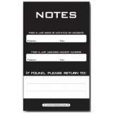 NOTEPAD - Large, top spiral bound: 1 PAD Model QC83